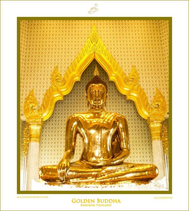 Golden Buddha Temple of the Golden Buddha Wat Traimit in Bangkok Thailand