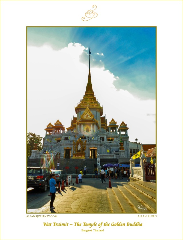 Wat Traimit - The Temple of The Golden Buddha Bangkok Thailand